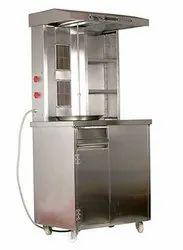2 Burner Modern Shawarma Machine