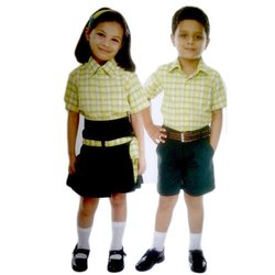 Summer Terry Cotton Kids Pre-School Uniform
