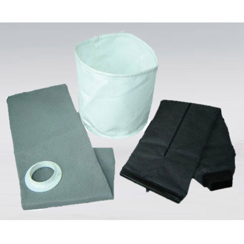 Synthetic Fiber White, Black & Gray Woven Filter Pads