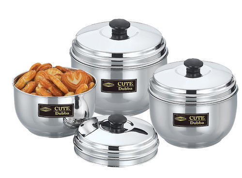 Cute Dubba Stainless Steel Storage Containers Sreeram