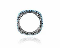 Diamond Turquoise Designer Bangle