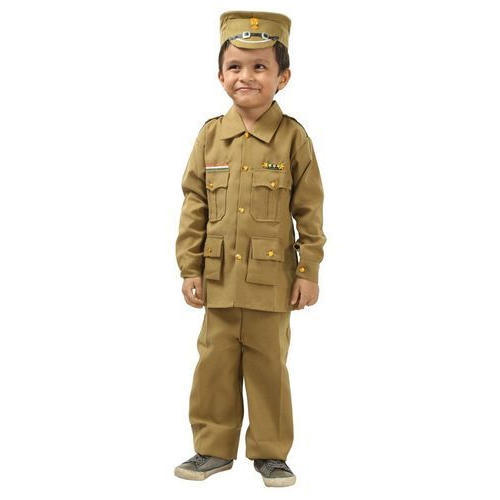 11a6ee8ab Cotton Kids Police Dress, Size: Small, Medium, Large, Rs 300 /set ...