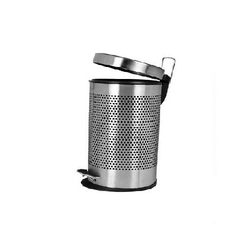 SS Perforated Pedal Bins