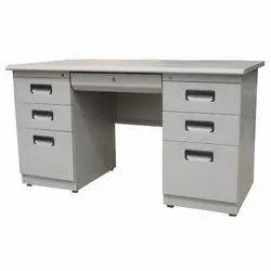 Rectangular Mild Steel Office Table  Powder Coating Service
