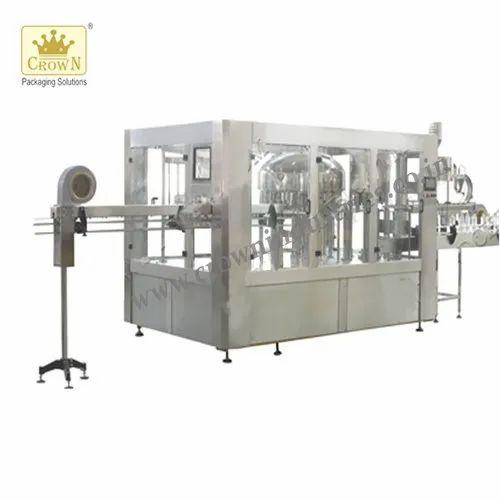 Fully Automatic Bottling Machine - 40 BPH