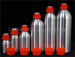 Plastic Neck Aluminium Bottle