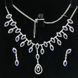 92.5 % Designer Silver Necklace