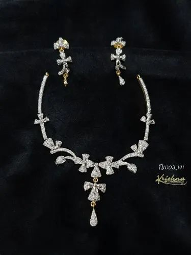 Designer Necklace Sets Fashion Jewellery Necklace Set From Chennai