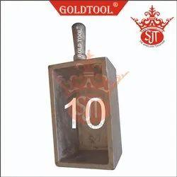 Gold Tool Ingot Mold Casting No. 10 Per Kg.