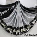 Japan Crepe Silk Saree with Blouse Piece