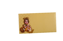 Yellow/Gold Shastriabdapoorthi Card CCMB-0001A