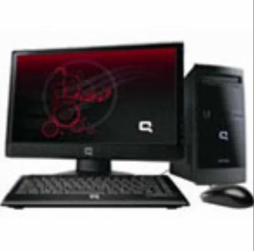 Black Compaq Presario Cq3080ix Computer Desktop Rs 32990 Piece