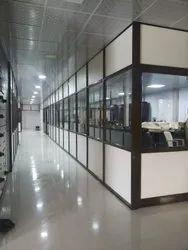 Aluminium Office Cabin Partition