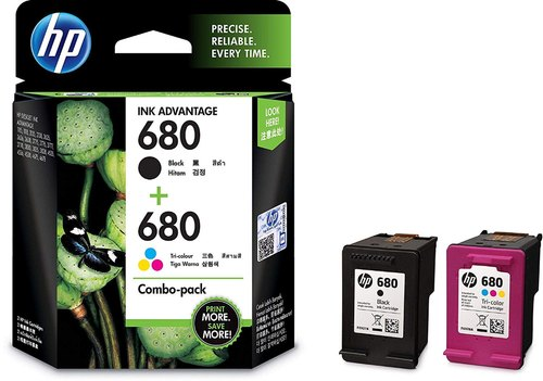 Cartridges - HP X4E78AA 680 Combo-Pack Black & Tri-Color Ink