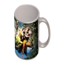 Sublimation Silver Mug