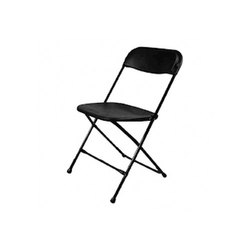 Maruthi Enterprises Black Cast Iron Folding Chair