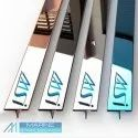 MSI Brand Stainless Steel Inlay & Groove Strips