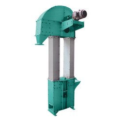 Stainless Steel Bucket Elevators, For Warehouses, Capacity: 500 kg