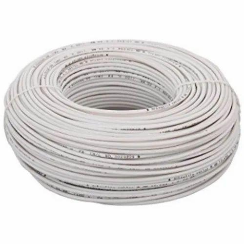 GreatWhite PVC Great White 1.5 Sqmm Wire 90mtr Coil, Packaging Type: Box, for Office