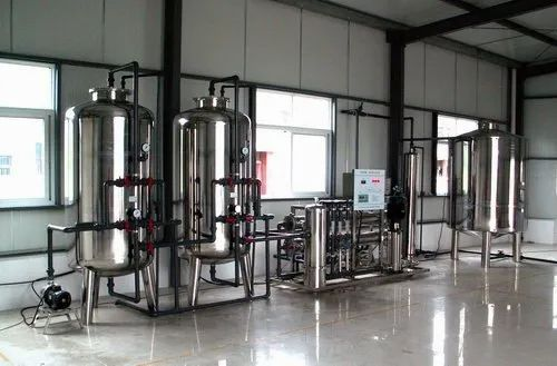 3000 LPH Mineral Water Treatment Plant
