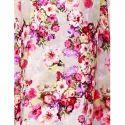 Cottinfab Women's Maxi Floral Pink Dress