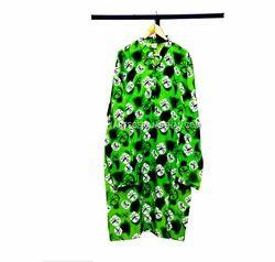 Green Long Man Kurta