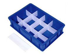 Industrial Partition Plastic Crate