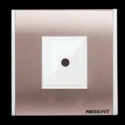 Plastic Pressfit Modular Ceiling Rose Plate