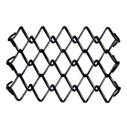 Iron PVC Coated Chain Link Fencing Wire Mesh