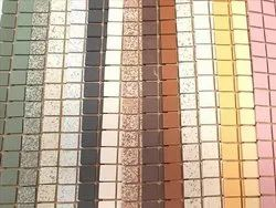 Marble Multicolor Unglazed Mosaic Tiles for Swimming Pool Tiling