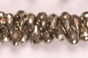 Pyrite Side Drilled Faceted Stone Beads