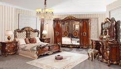 Aarsun Woods Teak Wood Wooden Designer Bedroom Set