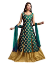 Traditional Women Gown Green