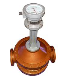 Mechanical Positive Displacement Hot Furnace Oil Flow Meter