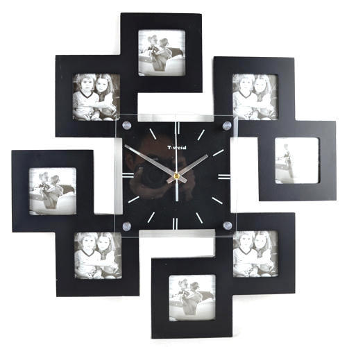 Photo Frame Clock, Photo Ke Liye Ghadi Wala Frame, Picture Frame ...