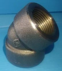 Threaded 45 Dee Elbow