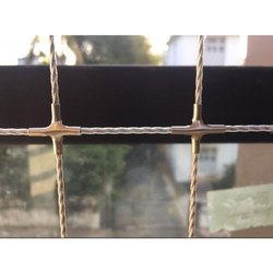 Stainless Steel Exterior Invisible Grills, Wire Diameter: 2.5 Mm