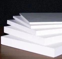White Plain PVC Foam Sheet, Size: 8' x 4', Thickness: 2 to 12mm