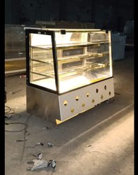 Display Counter For Sweets And Bakery  Front Open Glass