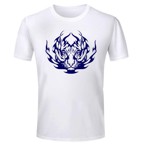ae8cd8b81a04b Cotton Tiger Tattoo Printed Designer T Shirt at Rs 140 /piece | Ngo ...