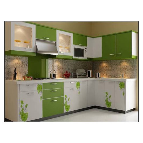 Rodge Interio Stylish Modular Kitchen, Rs 1500 /square