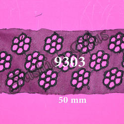 Decorative Black Color Lace