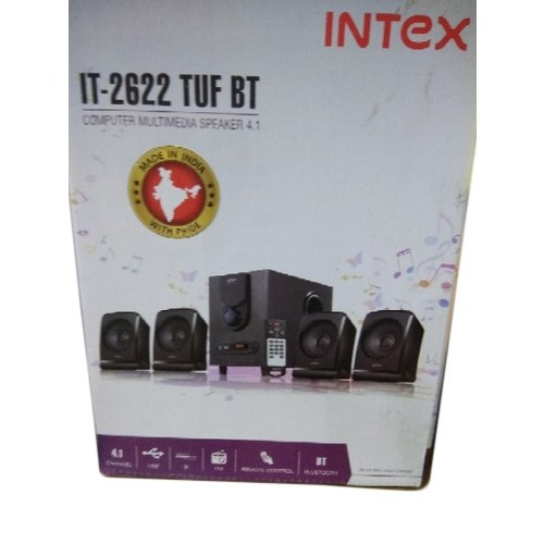 IT 2622 TUF BT Intex Computer Multimedia Speaker, 8 Ohms