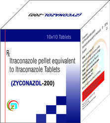 Itraconazole Pellet 200mg Tablets