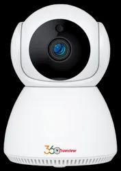 Trueview 360 2mp Wifi Smart Cctv Camera - Snowman