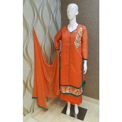Stylish Chanderi Suit