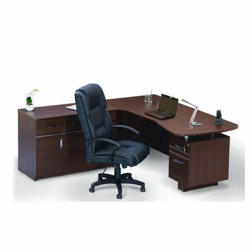 L Shape Office Table And Chair Rs