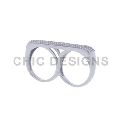 Diamond 925 Sterling Silver Ring