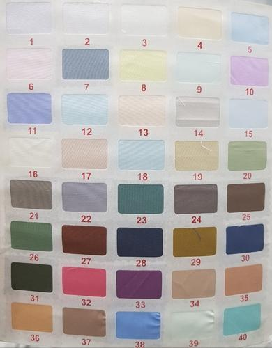 28dd9a8d6e4 Plain 80 Colours Raymond Cotton (P.V) Shirting Fabric