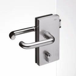 Glass Door Lock, Polished
